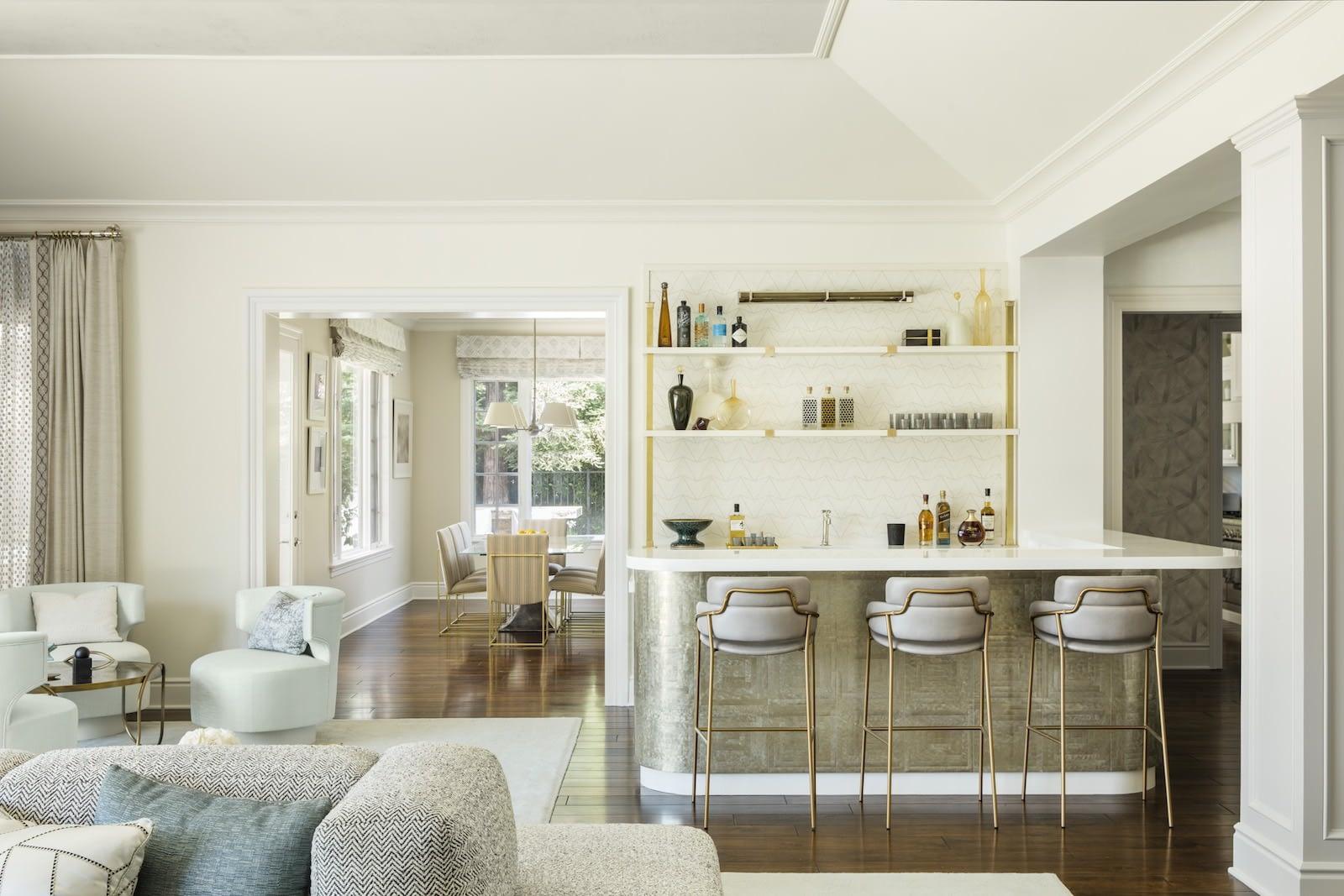 kitchen shelf styling- Christine Markatos Design